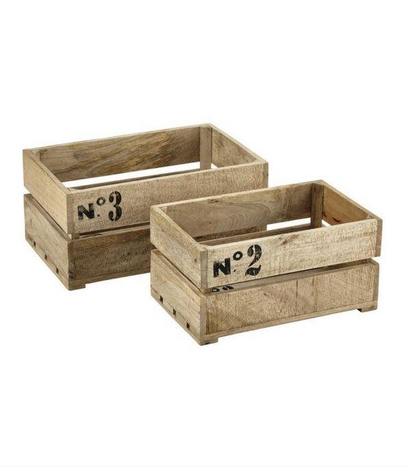 Ou Trouver Des Caisses En Bois Et Des Cagettes Caisse Bois Meubles En Caisse Meuble Bois Recycle