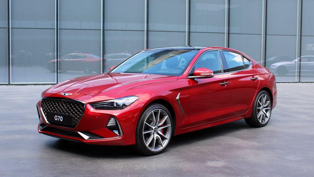 2018 Genesis G70 Dream cars. Old and New. Hyundai