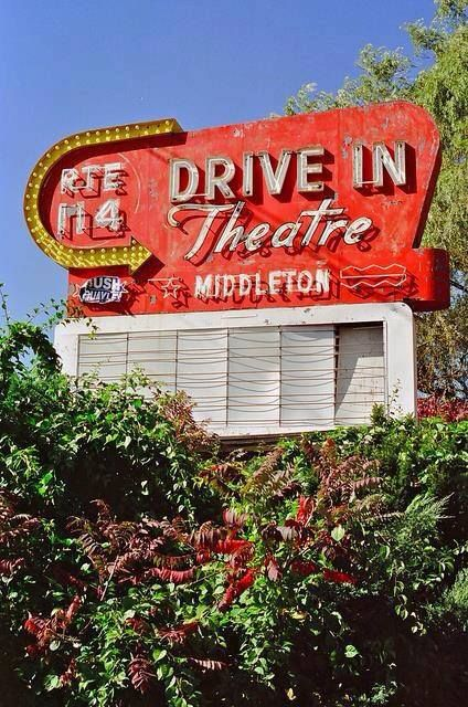 Now Closed Rte 114 Drive In Theater In Middleton Ma Sign Of