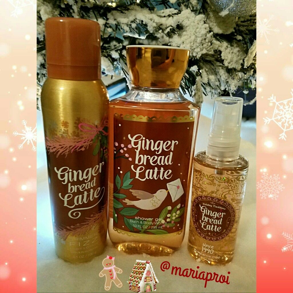 Bath And Body Works Gingerbread Latte