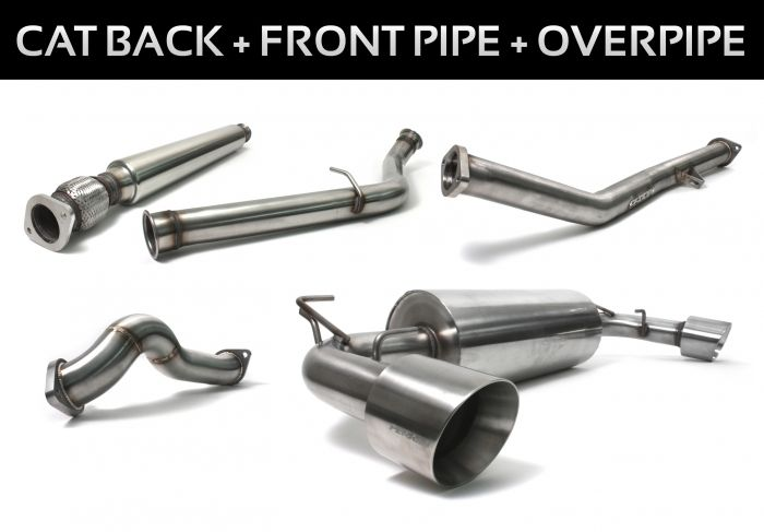 Perrin 86 Full Exhaust with Rsonator   86 Parts