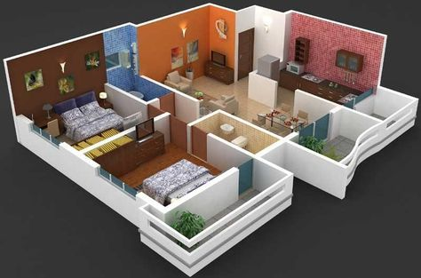 Interior Designs 2bhk Flat Smart House Ideas Flat Interior Design Interior Design Photos Flat Interior