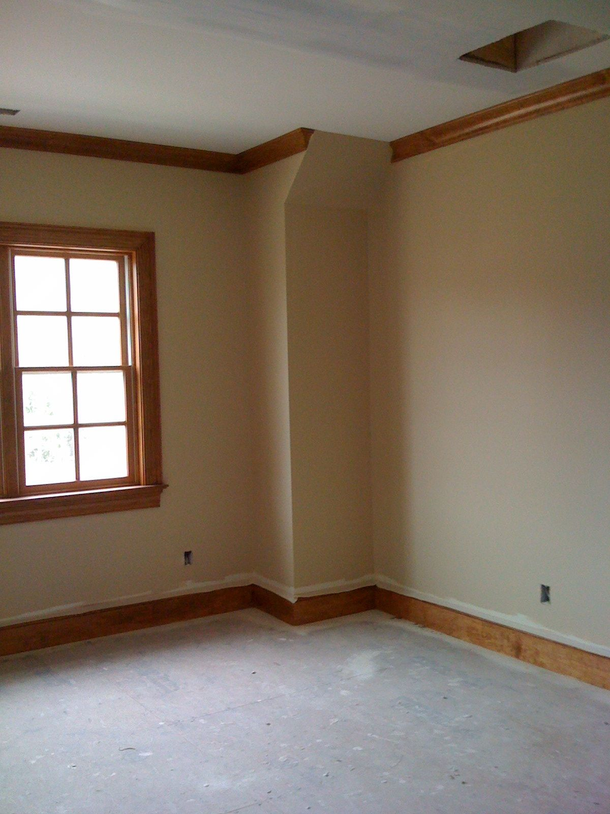 Paint Color Nice Complement To Stain On Trim