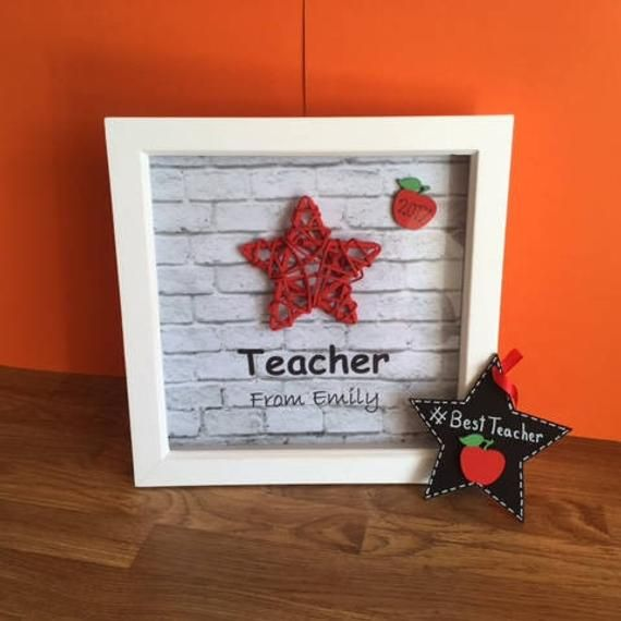 Personalised Christmas gift for Teacher teaching assistant Child minder