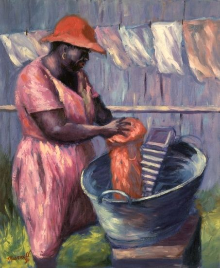 """Wash Day"" by  Carlton  Murrell"