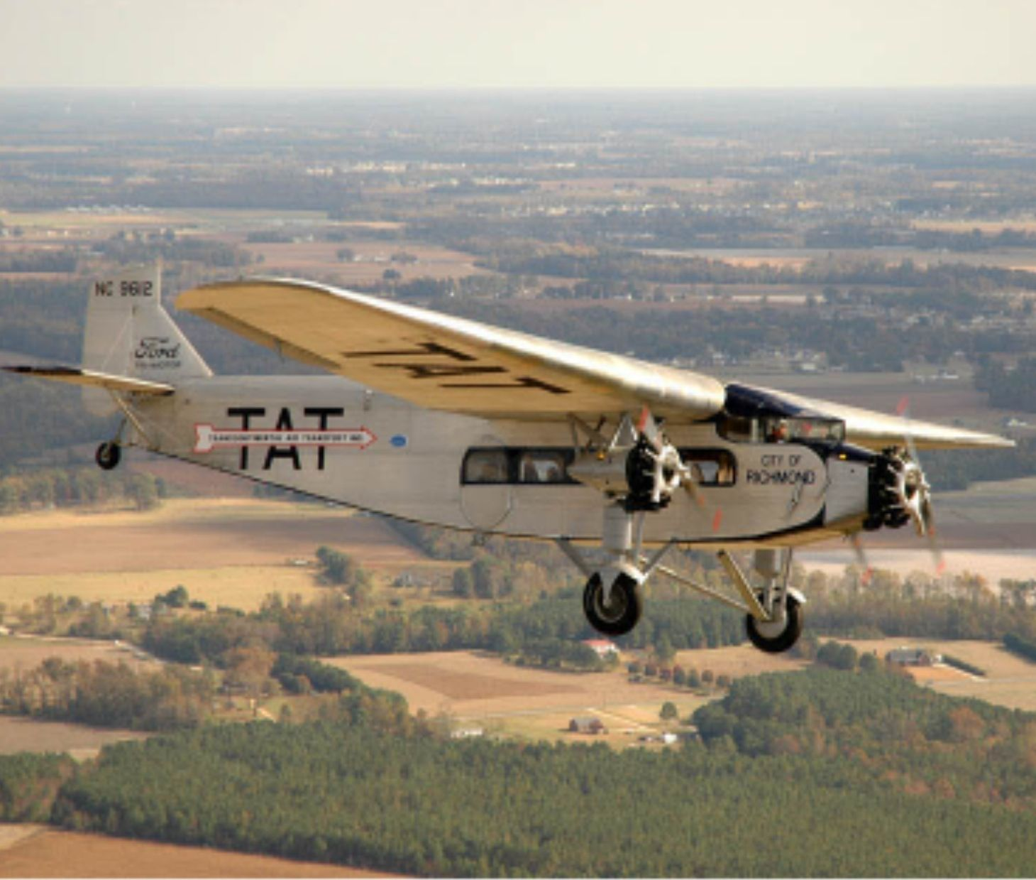 Ford trimotor city of richmond after multiyear