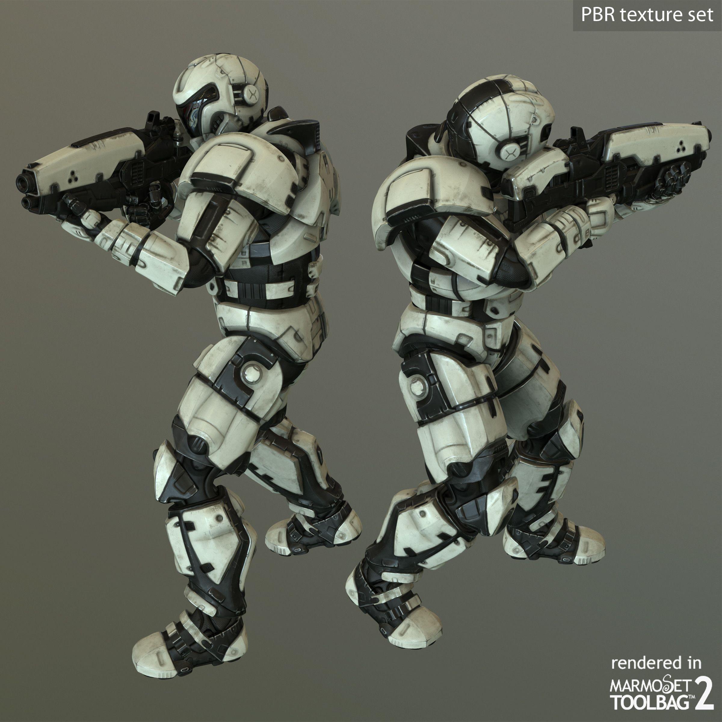 character zbrush rigged max