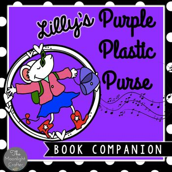 Over 20 Activities including Math and Literacy Center Games!!These materials were inspired by one of my all time favorite books, Lilly's Purple Plastic Purse by Kevin Henkes. The book is not included, so grab one from the library or buy a copy!  It will become a favorite of yours too!