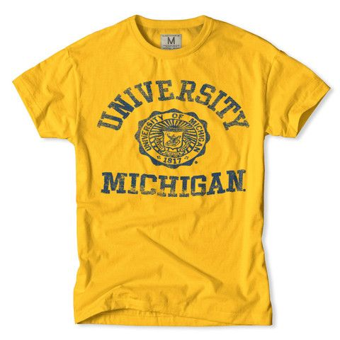 18e78ad6271 University of Michigan T-Shirt | Michigan Wolverines in 2019 ...
