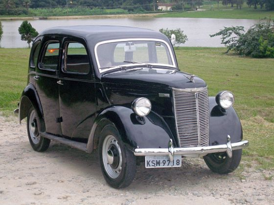 1948 Ford Prefect #classiccars #classic #cars #poster