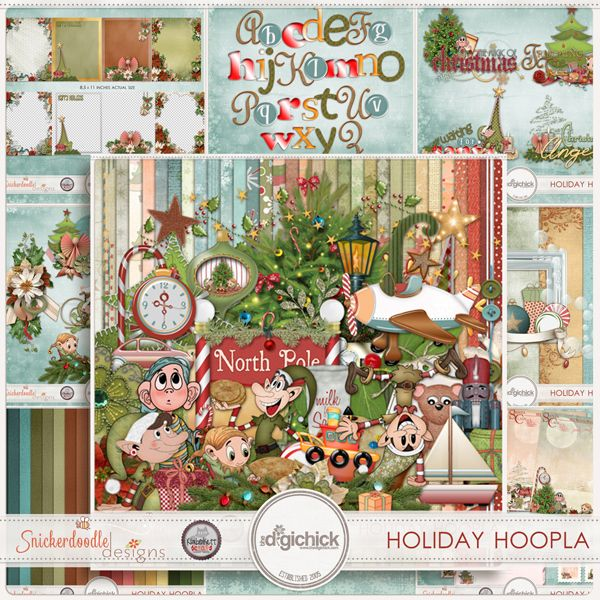 Holiday Hoopla Collection