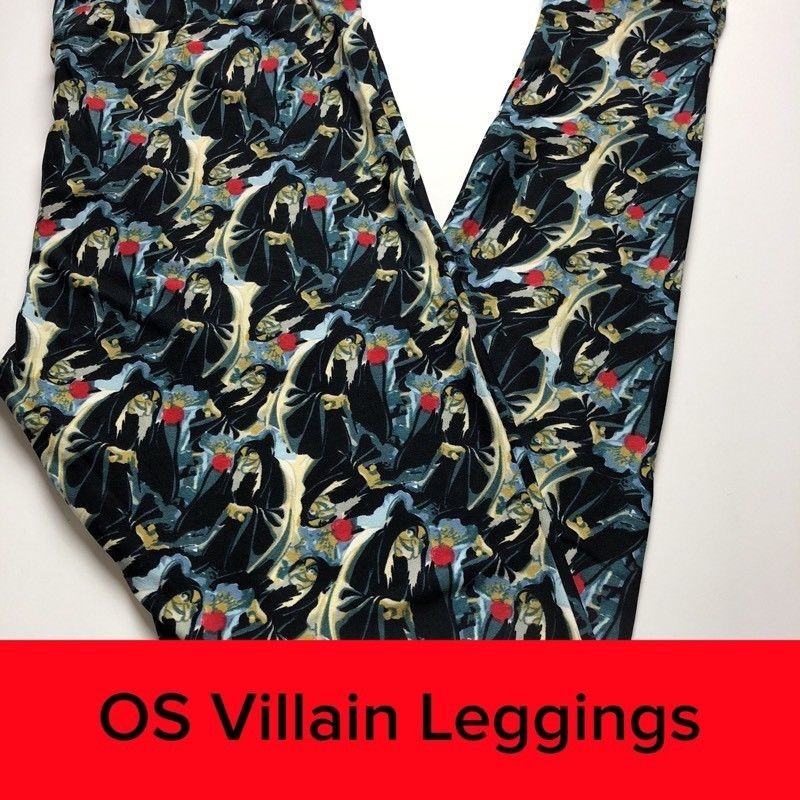 f64472cd98600a LuLaRoe OS NWT Snow White Evil Queen Poison Apple Villains Halloween  Leggings #fashion #clothing #shoes #accessories #womensclothing #leggings  (ebay link)