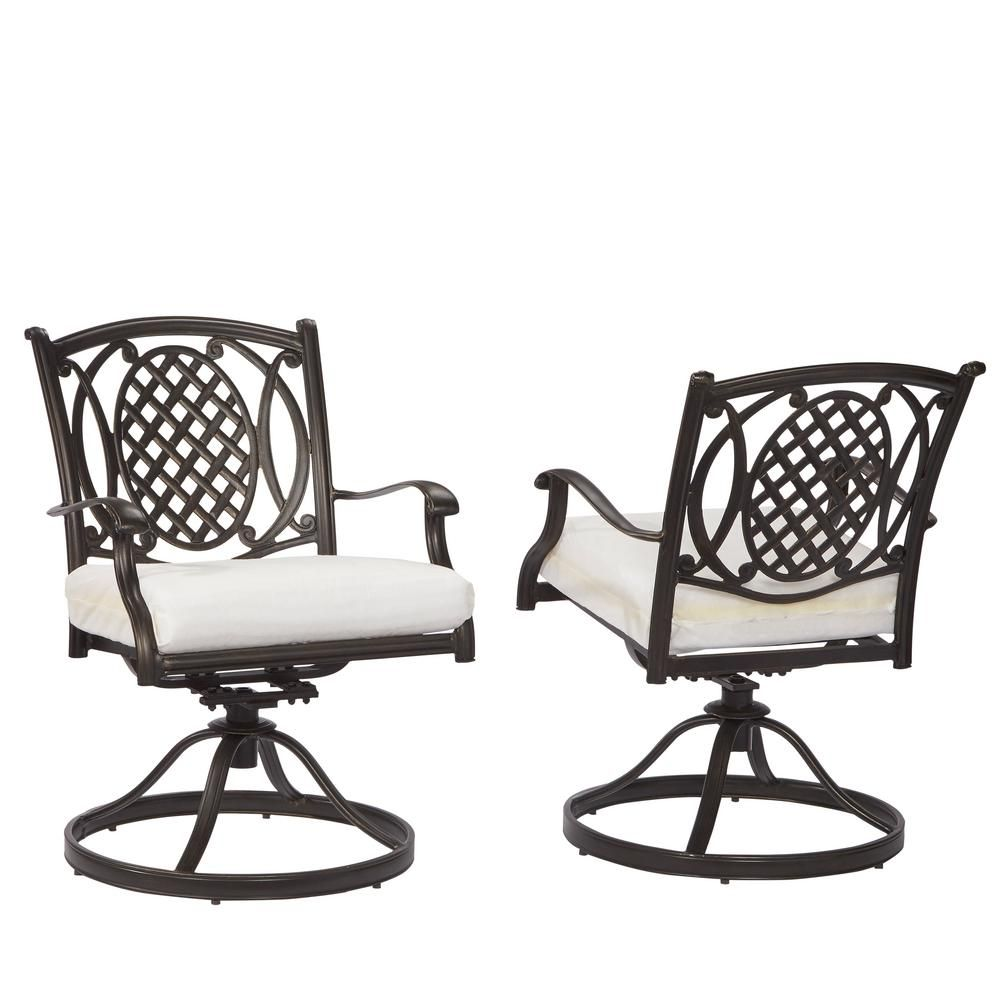 Hampton Bay Belcourt Motion Patio Dining Chair With Cushion Insert