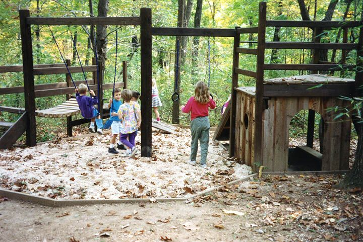 Backyard Fort Diy | ... Play Areas, Playhouses, Playhouse Plans, Private