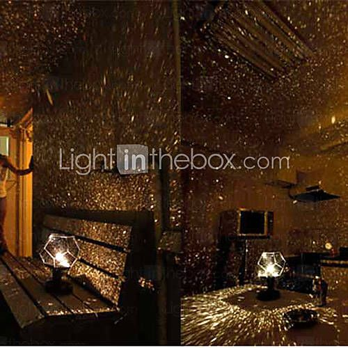 Diy Romantic Galaxy Starry Sky Projector Night Light 2xaa