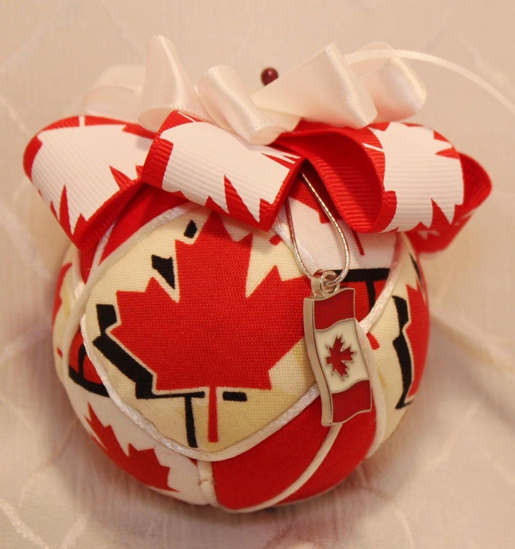 Canada 150 Japanese Kimekomi Large Ornament by