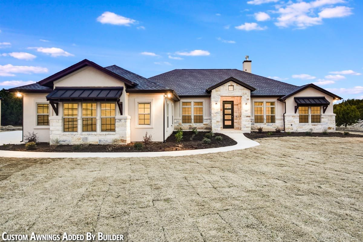 One-Story Living 4-Bed Texas-Style Ranch Home Plan