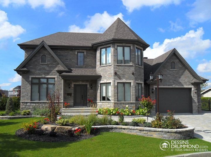 Manor Style House Plan Nice For The Home In 2018 Pinterest