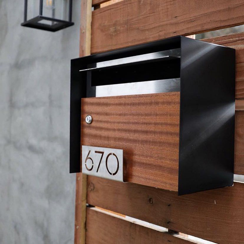 Deusmodern Makes Modern Mailboxes And House Numbers And Is One Of