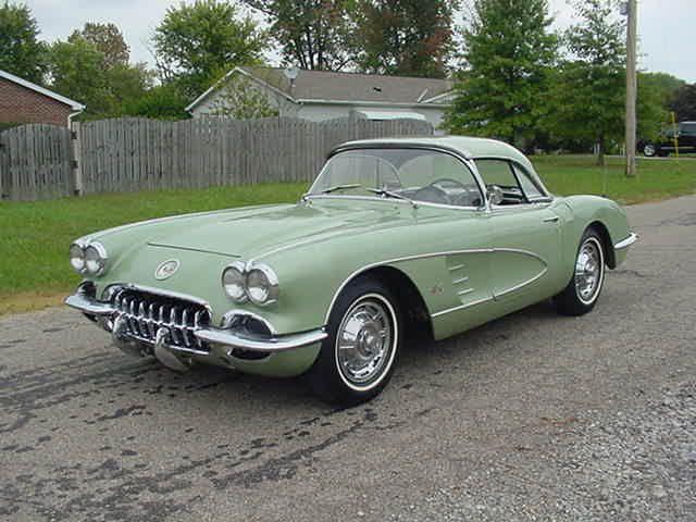 1960 Cascade Green Corvette 75 Units Chevrolet Corvette Corvette Chevrolet