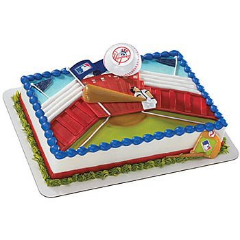 BOSTON RED SOX AMERICAN BASEBALL A4 ICING CAKE TOPPER PERSONALISED BIRTHDAY