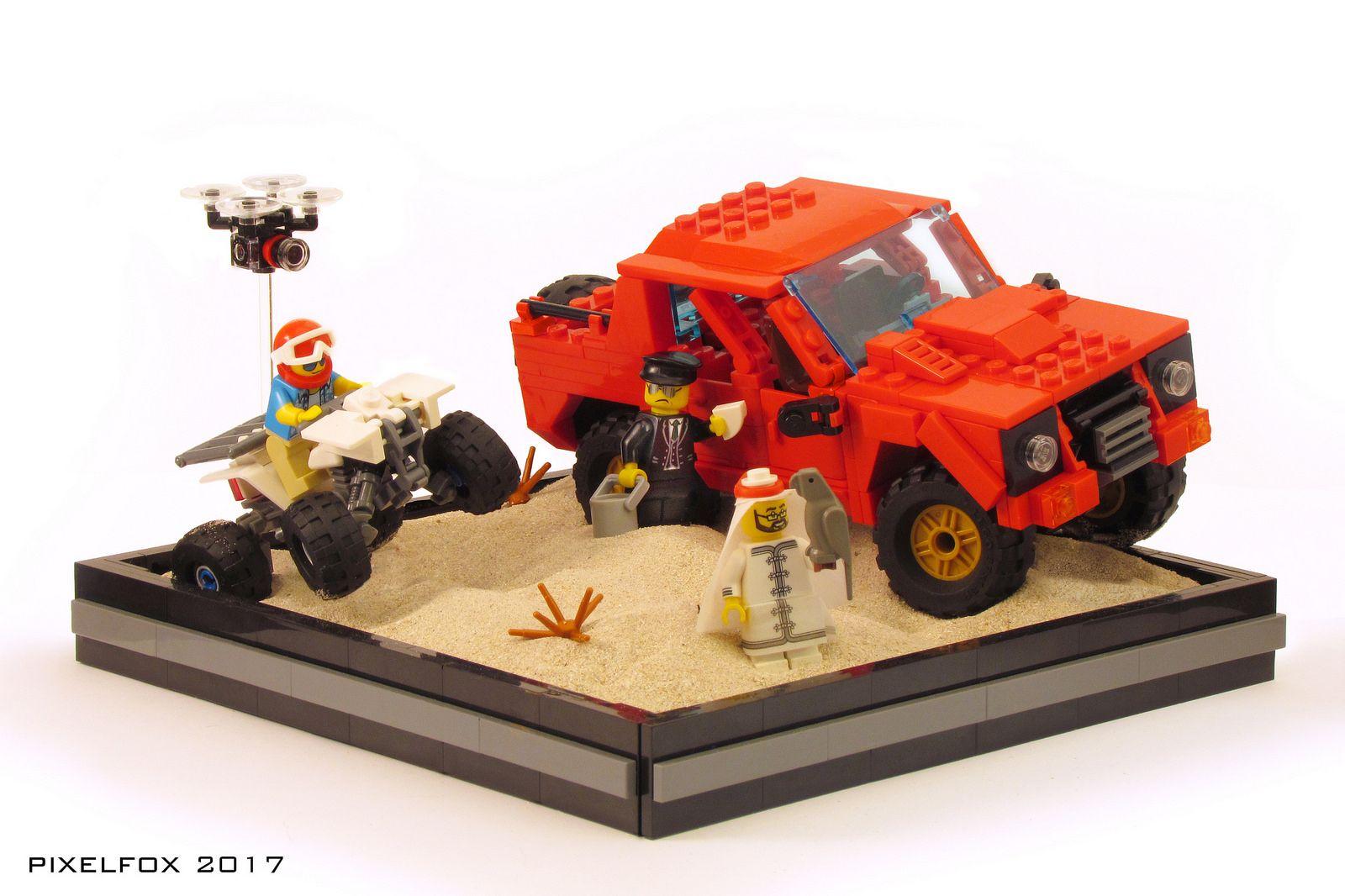 Lamborghini LM002   Rambo, Legos y Juguetes