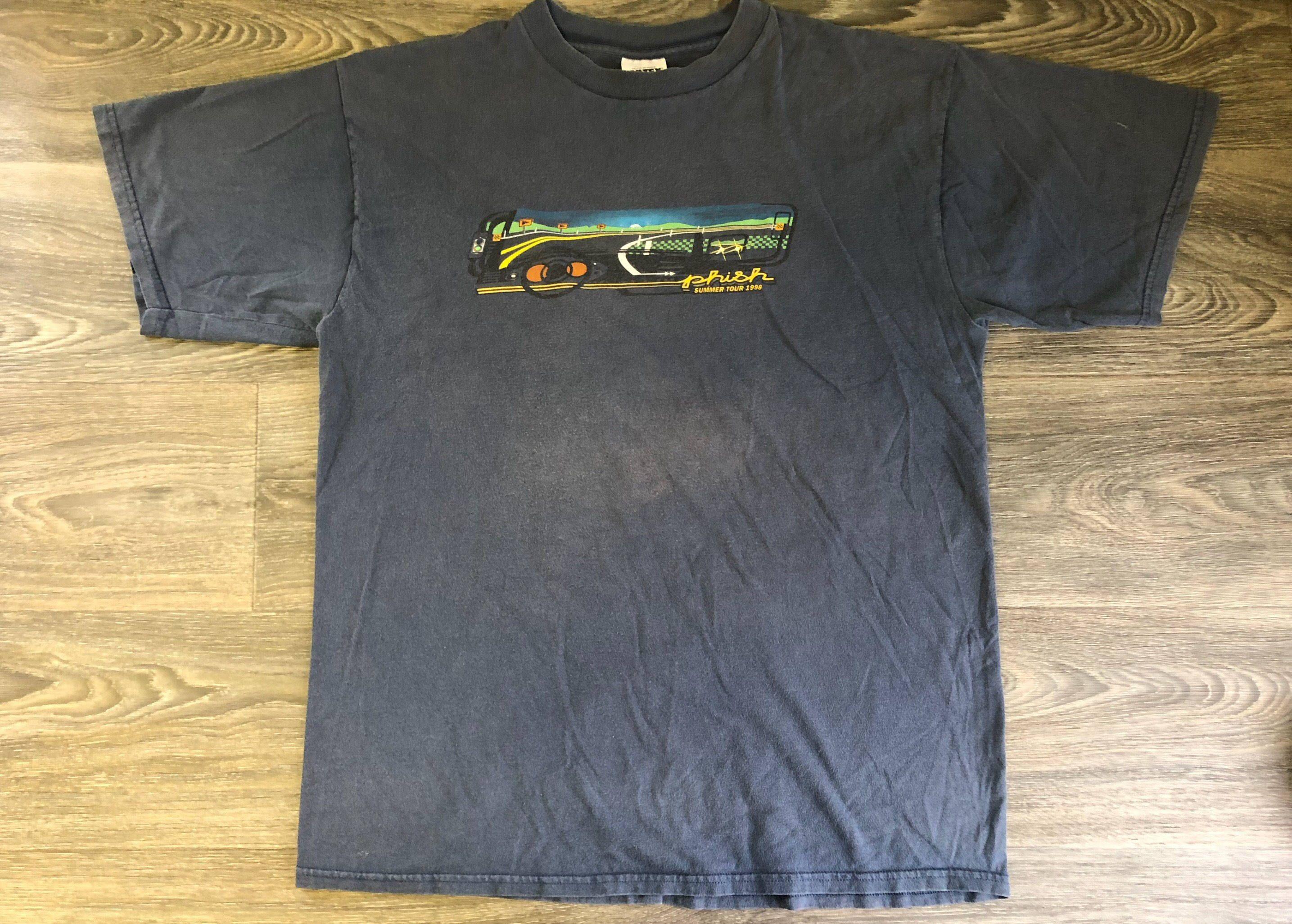 Vintage 90s Phish Band Tshirt vdFWK
