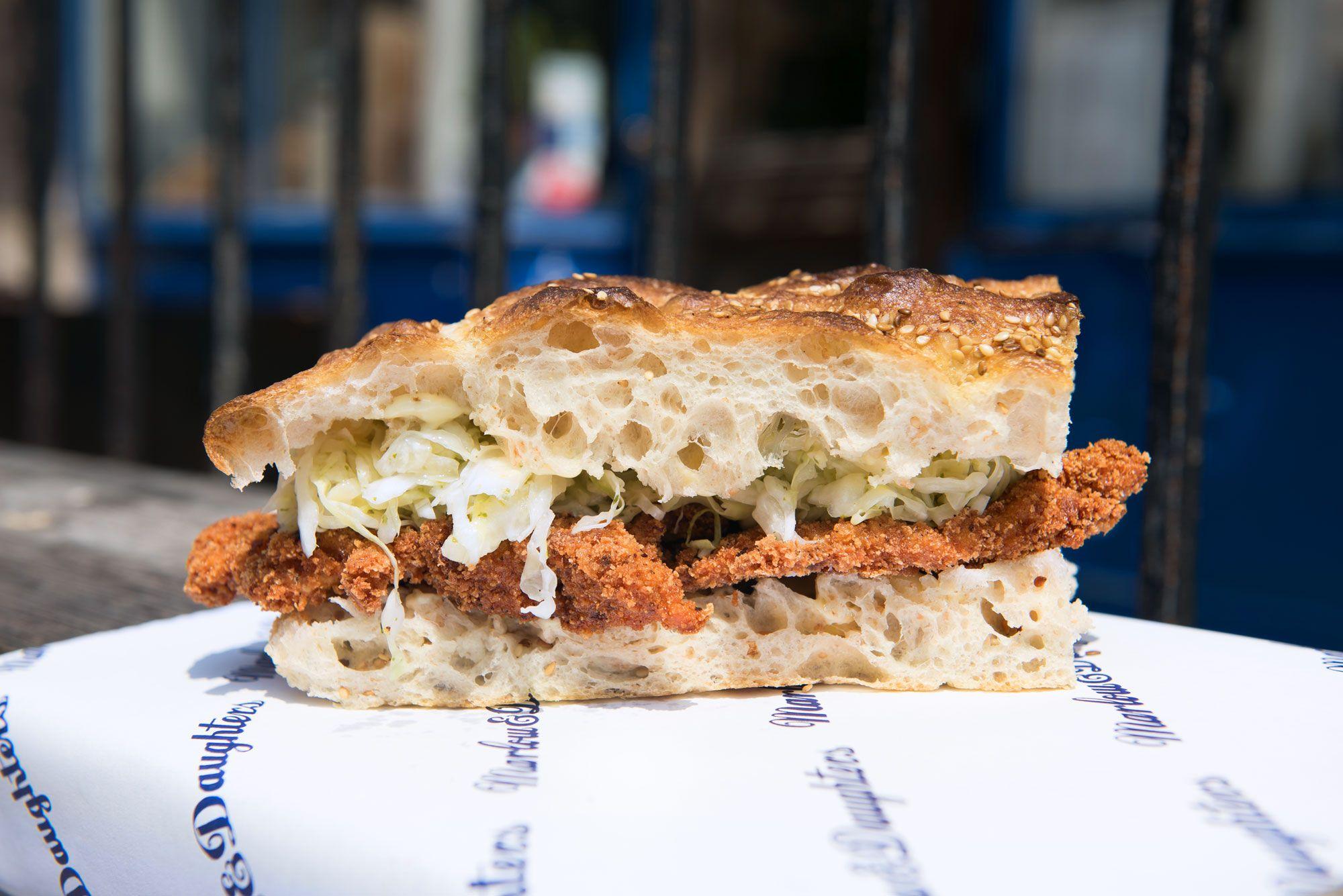 Taste Chicken Schnitzel Sandwich Chicken Schnitzel Sandwiches Recipes