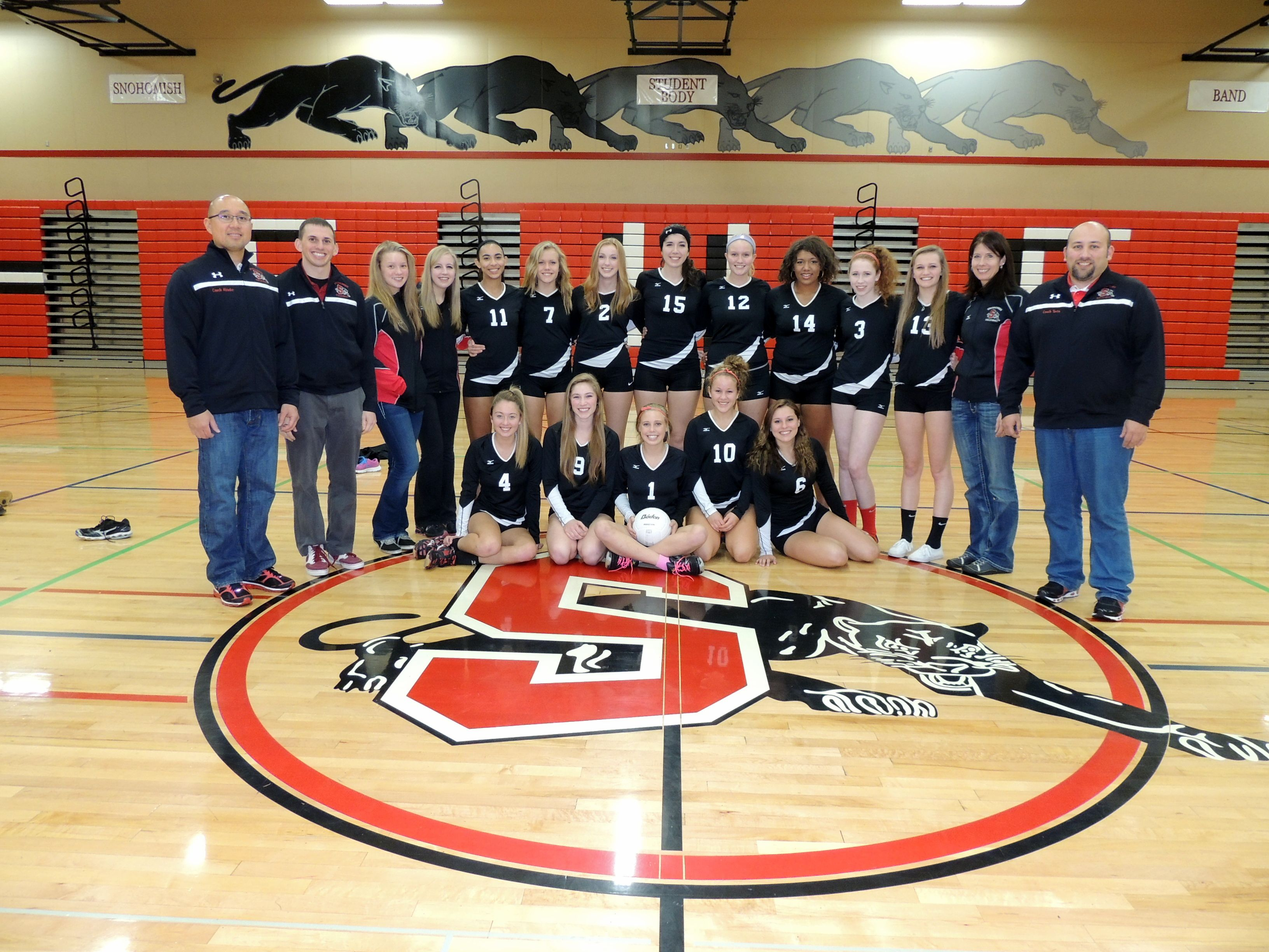 Snohomish Panthers Photo For State Volleyball Competition 2013 Volleyball Oregon State University Writing Majors