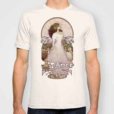 As the World Falls Down T-shirt by Megan Lara