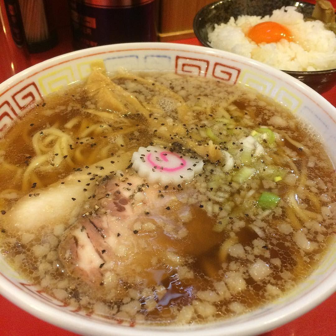 欽山製麺所の中華そば ラーメン 中華そば Japanese Food Ramen