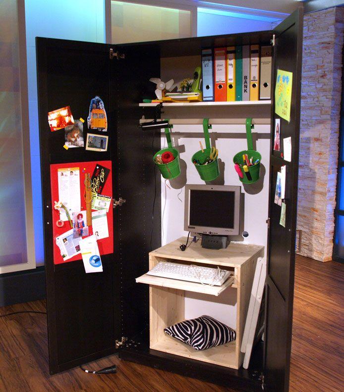b ro im schrank idee v uli wolf diy selbermachen pinterest. Black Bedroom Furniture Sets. Home Design Ideas