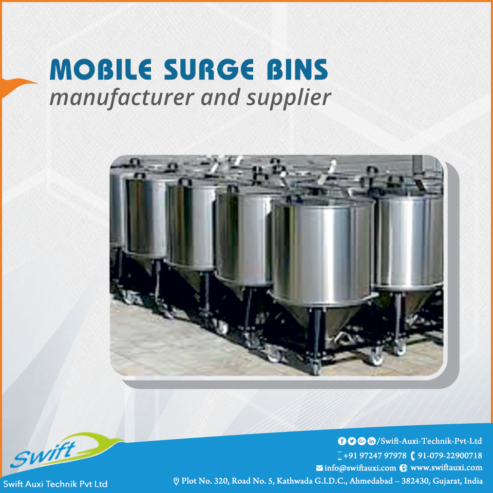 Mobile Surge Bins Mobile Surge Bins Are Industrial Accessories