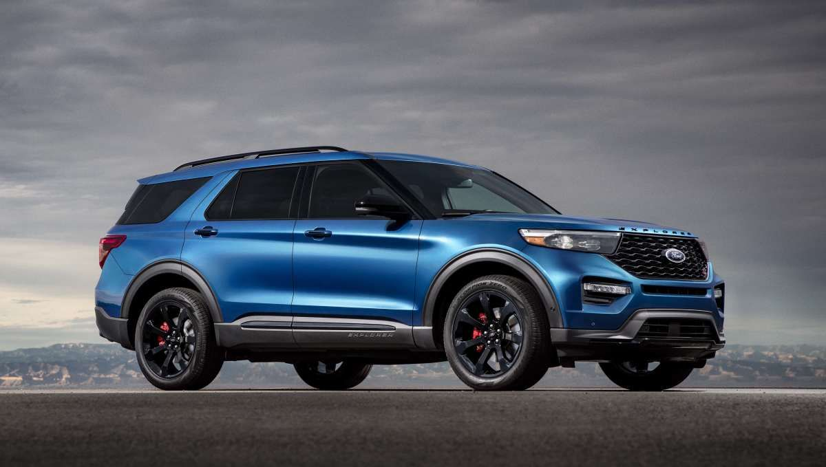 Ford Adds A 400 Hp St Model To The 2020 Explorer Range 2020 Ford Explorer Ford Explorer Ford Suv