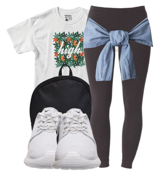 """""""Ok I'm going to bed"""" by ariangrant ❤ liked on Polyvore featuring Joe Browns, NIKE and 427"""