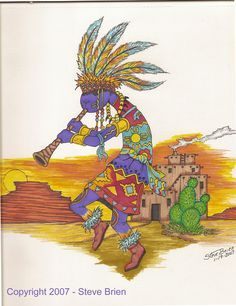First Nation, kokopelli dance