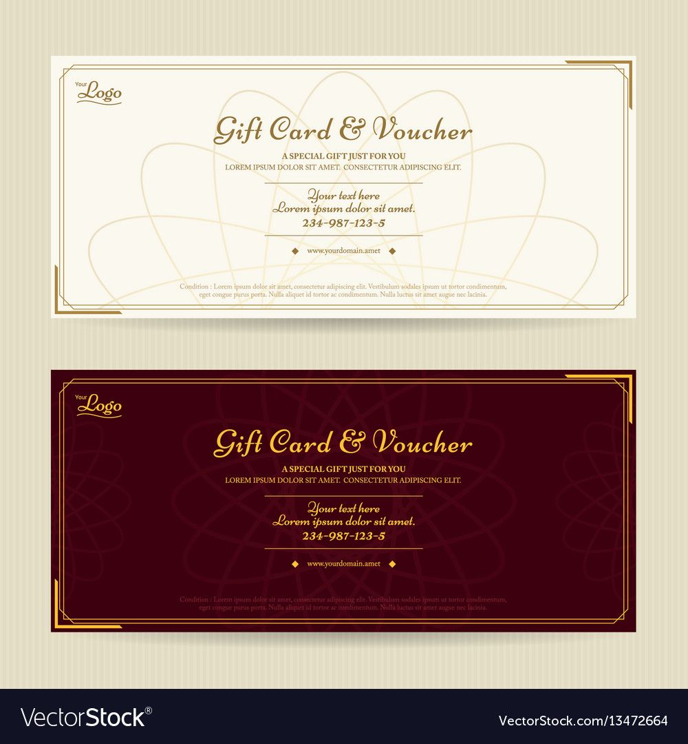 Elegant Gift Voucher Or Gift Card Template With Elegant Gift Certificate Template Sample P Gift Certificate Template Gift Card Template Certificate Templates