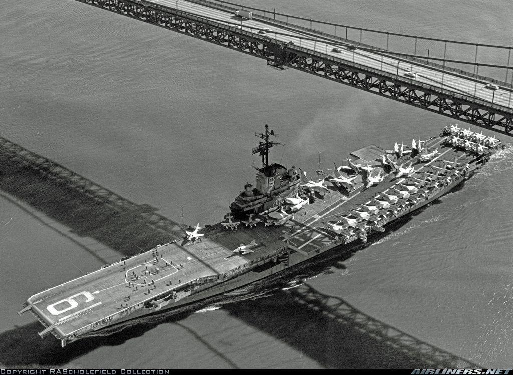 USS Hancock CVA-19 Navy Ship Cap