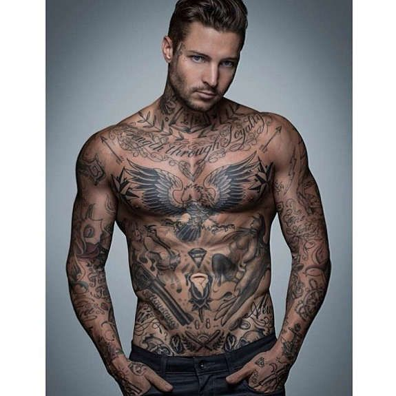 66e61ce2f30bf 38 Best Female and Male Stomach Tattoos | Man | Tattoos for guys ...