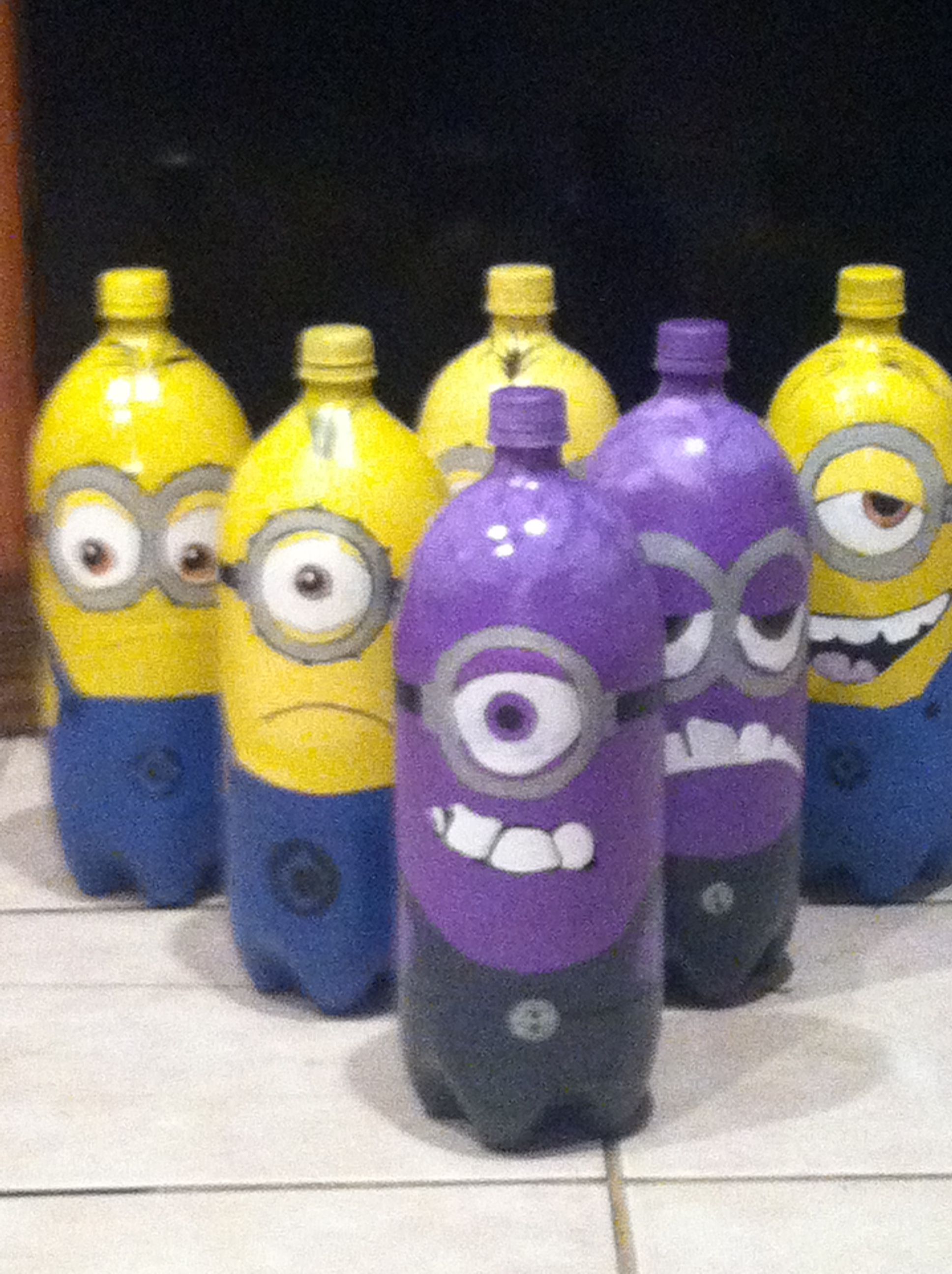 We have this already made, Minion bowling Id like to possibly put together some type of ally way.