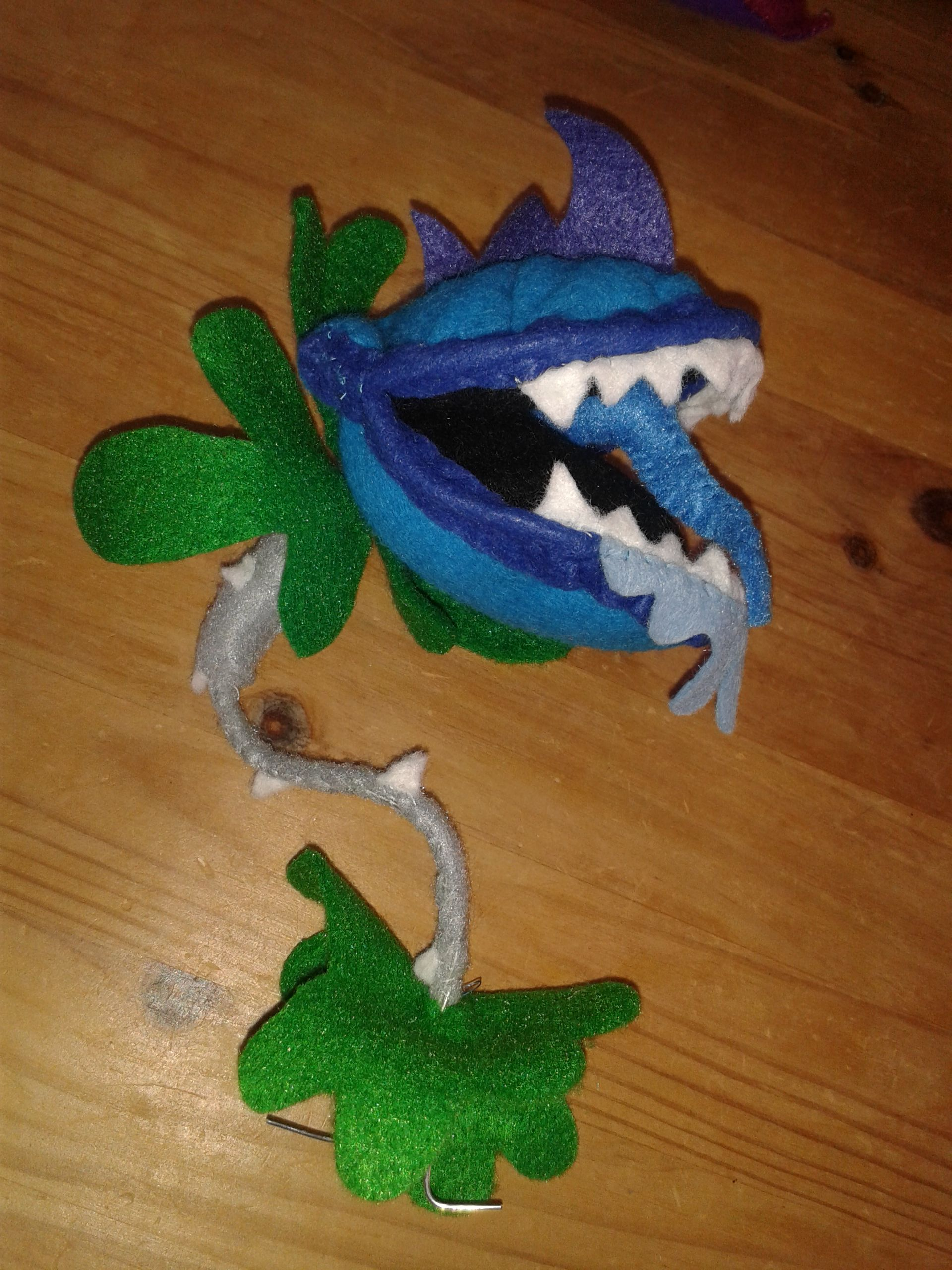 Power Chomper is hungry again...for love! This little guy is about ...