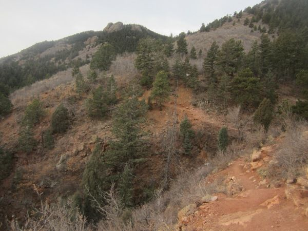 Trail Running around Manitou Springs, Colorado #manitousprings