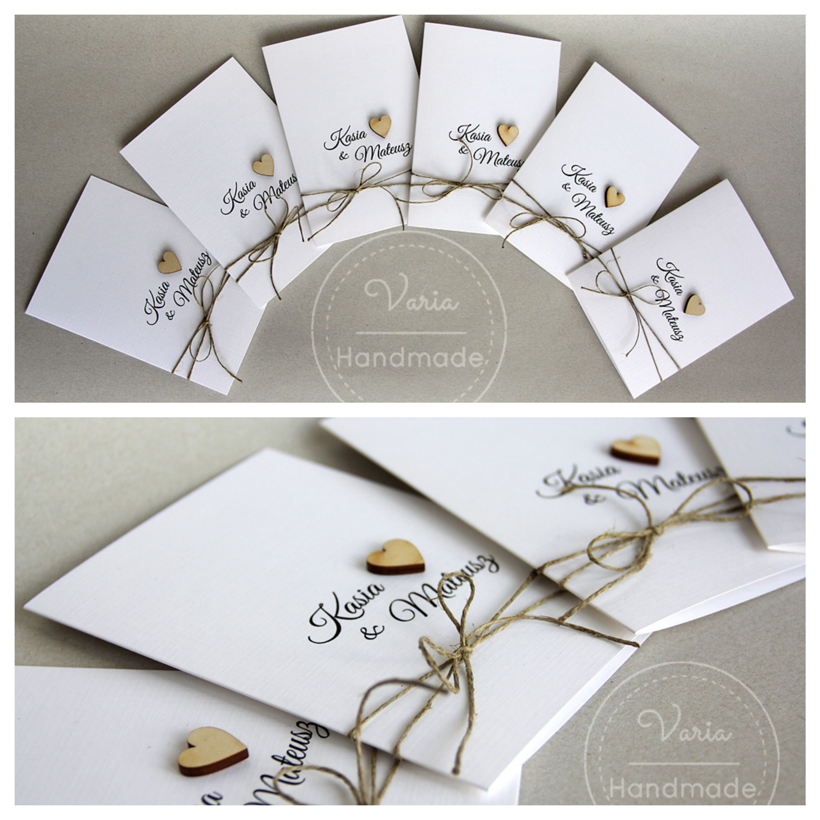 Rustykalne Zaproszenia Na Slub Elegant Wedding Invitations Wedding Invitations Wedding Inspiration