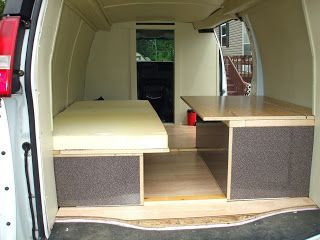 Stealth Van Dweller Building A New More Comfortable Bed