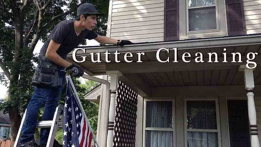 Rickie making those gutters shine!