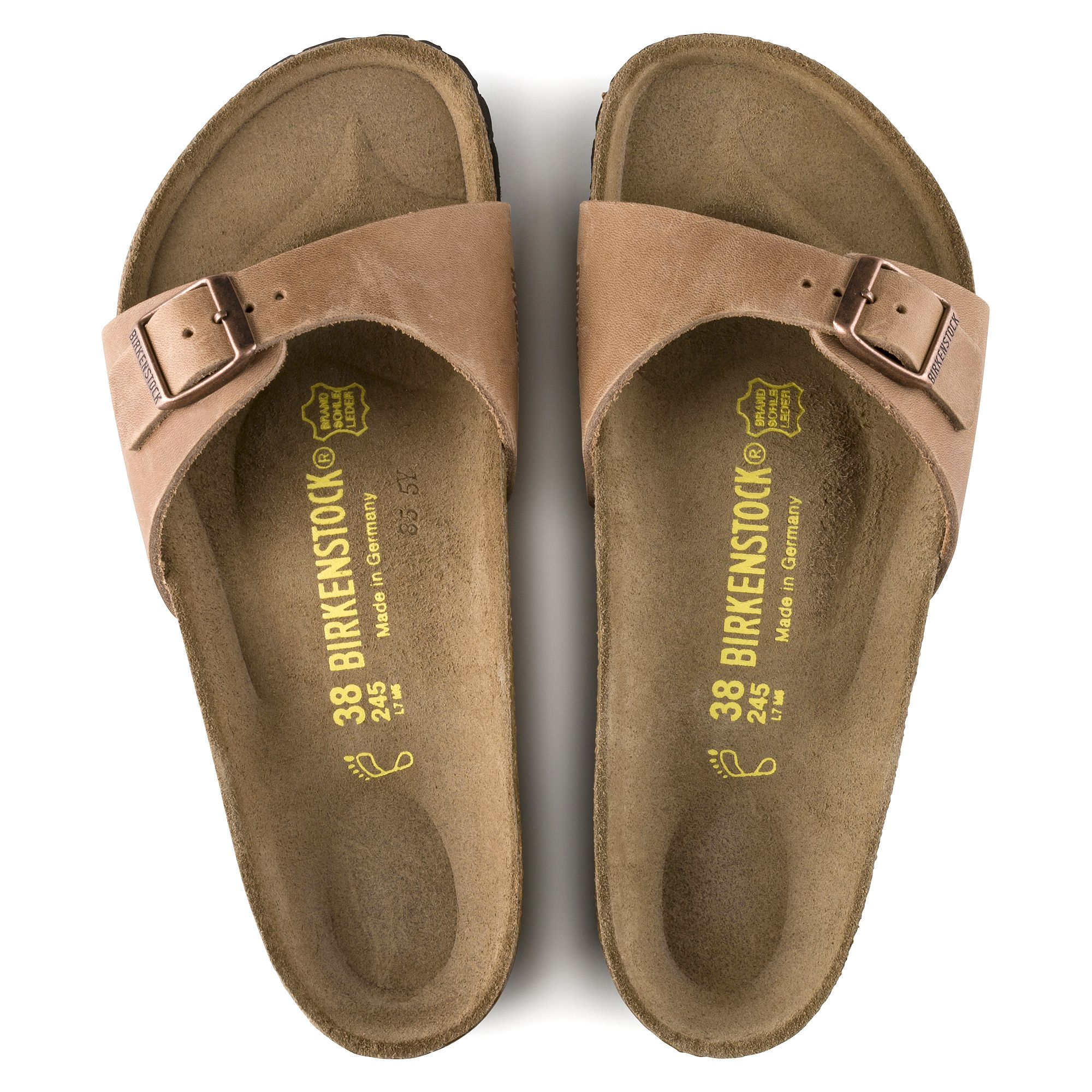Madrid Oiled Leather Antique Brown | Birkenstock, Leather