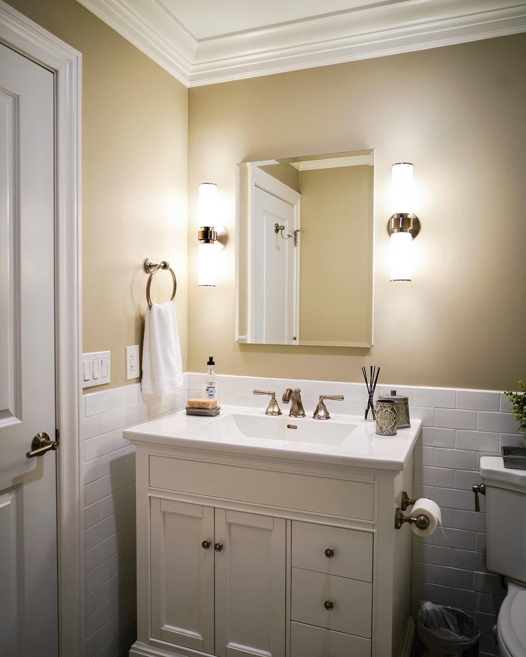 Excellent Upgrading A Bathroom Adding Crown Molding Elegant Home Remodeling Inspirations Basidirectenergyitoicom