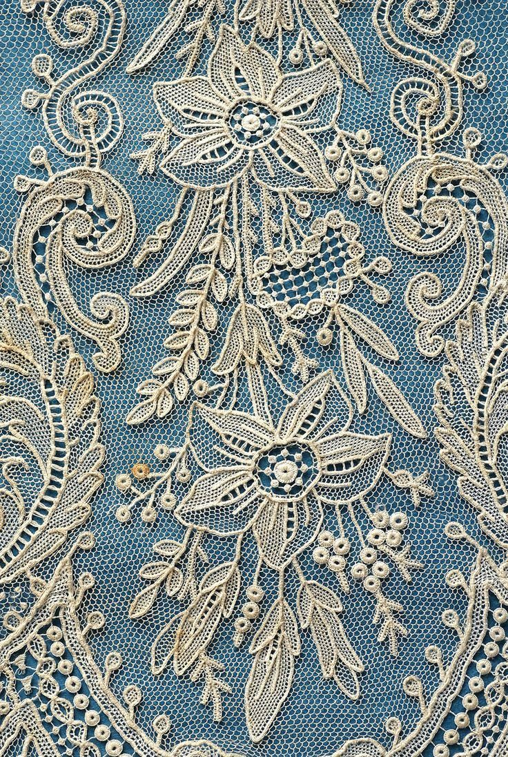 point de gaze needle lace | Handmade lace | Pinterest | Leinen und ...