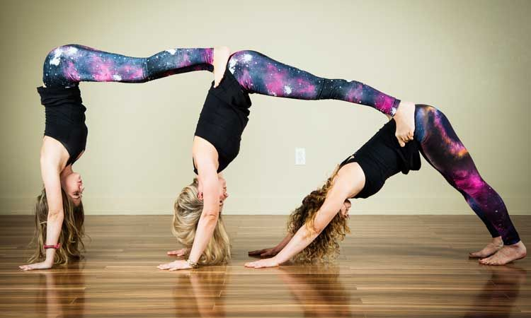 Yoga Poses For Beginners 10 Easy Poses In Everyday Life 3 Person Yoga Poses Partner Yoga Poses Cool Yoga Poses