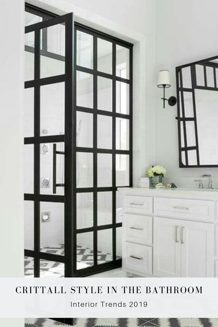 Why Black And White Bathrooms Are Always A Great Choice Coastal Shower Doors Shower Doors Modern White Bathroom